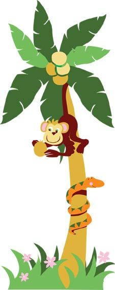 picture free library  best monkeys primates. Ape clipart tree.