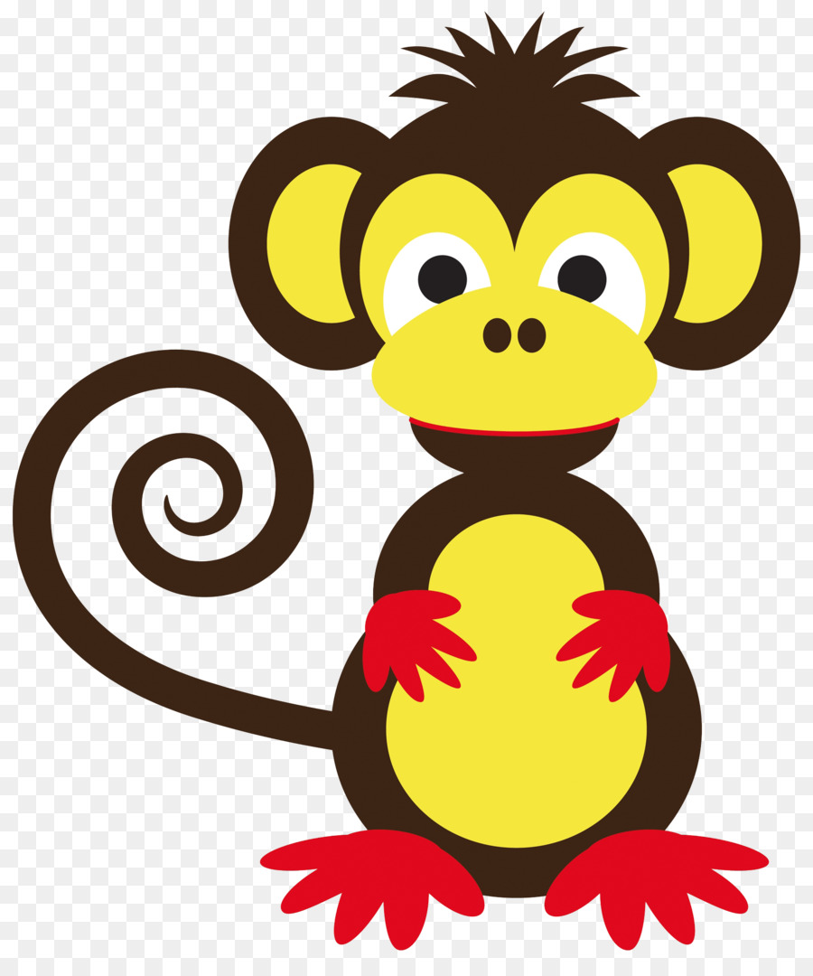 png library library Ape clipart year monkey. Cartoon png download free