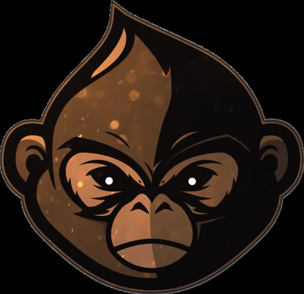 royalty free library Funky monkeys liquipedia counter. Ape clipart year monkey