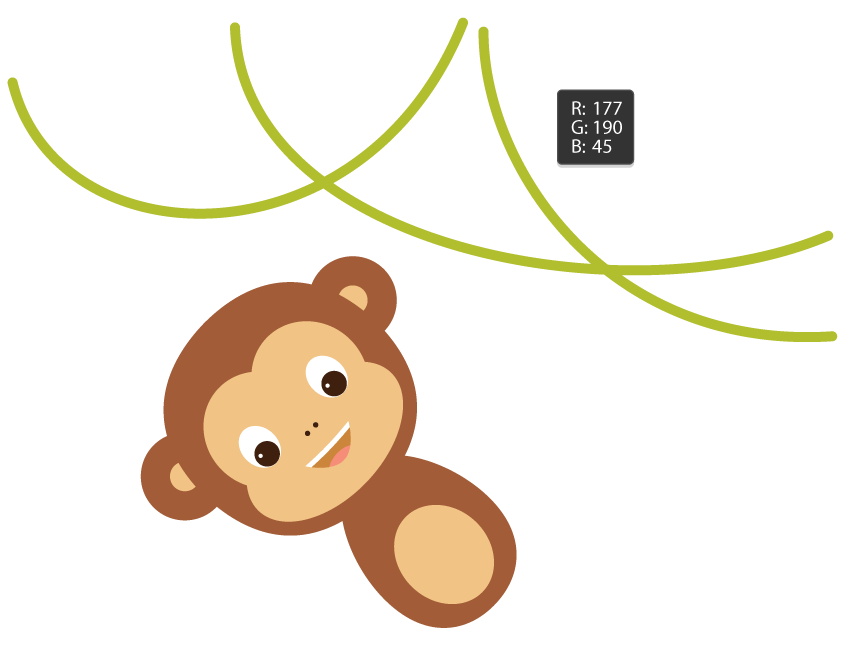 picture freeuse stock How to Create a Hanging Monkey Illustration in Adobe Illustrator