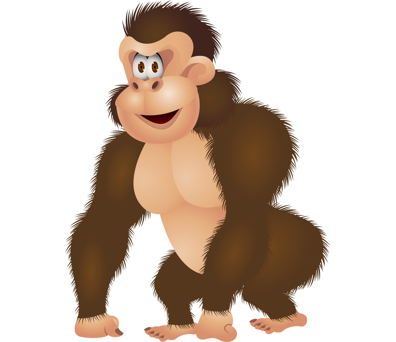 png freeuse download Gorilla Ape King Kong Illustration