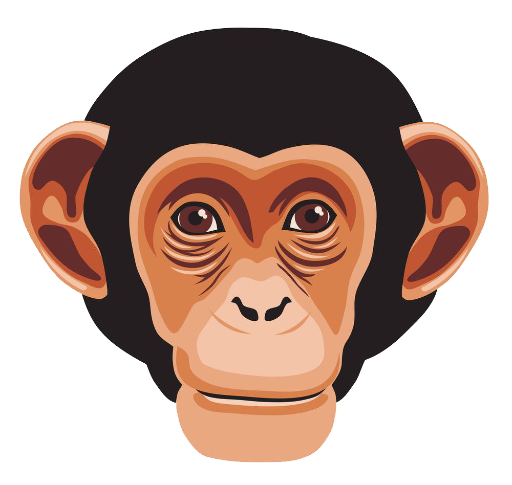 banner transparent download Chimpanzee Ape Primate Monkey