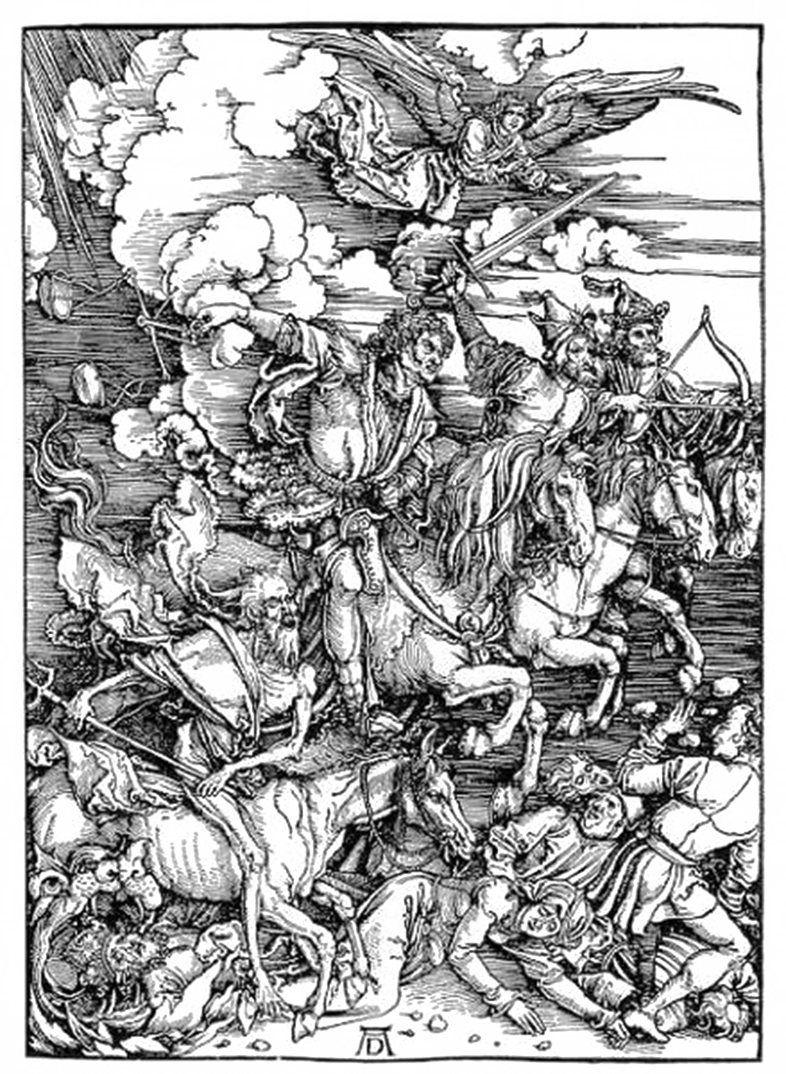 vector library download Four horsemen of the. Drawing bible apocalypse