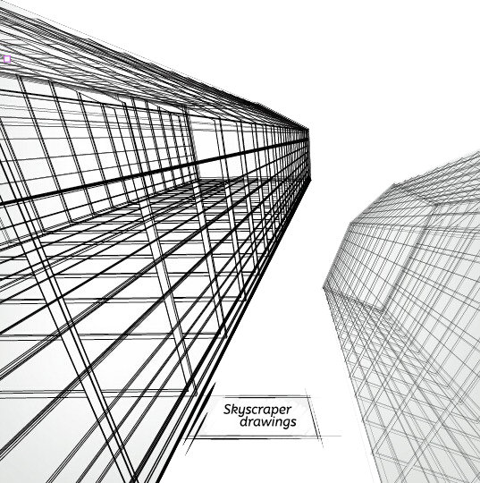 picture royalty free download Skyscraper Architectural drawing Architecture