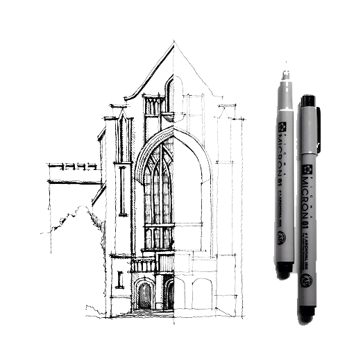 clip art royalty free stock Architectural drawing Architecture Sketch
