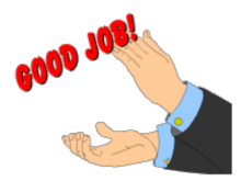 image freeuse stock Cartoon clapping hands smart. Applause clipart.