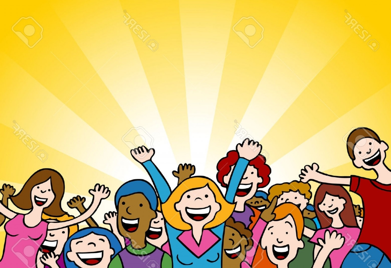 clip library library Free download best on. Applause clipart crowd person.