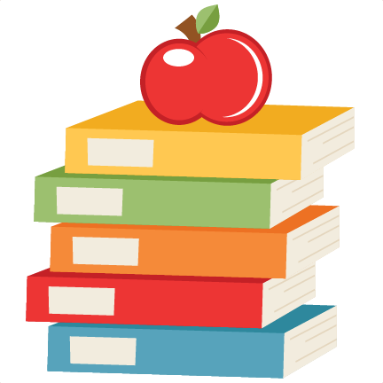 clip art freeuse stock Books svg free. Apple on scrapbook cut