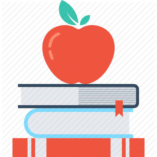 banner library library Apple And Book PNG Transparent Apple And Book