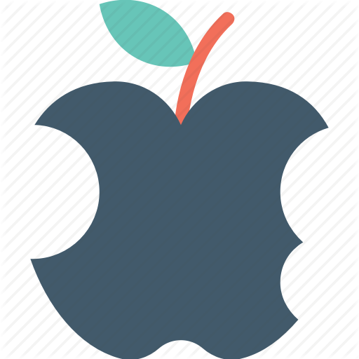 graphic royalty free library Bite vector apple. Collection of free bitten