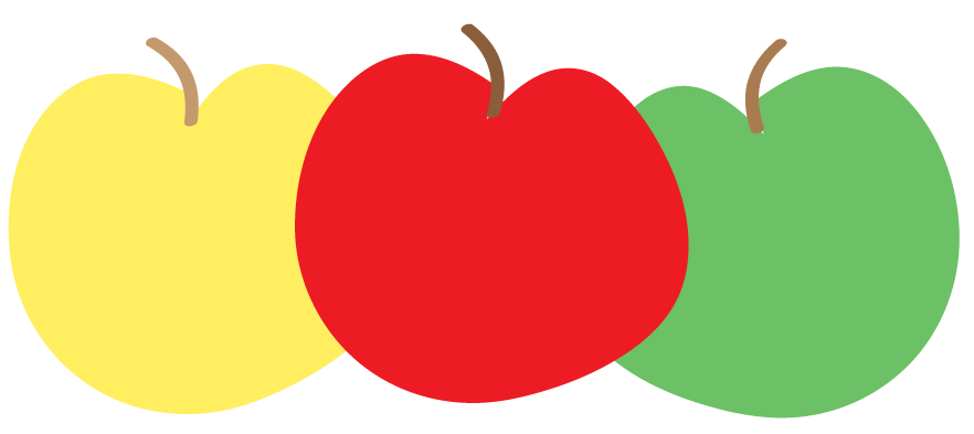 clip free download Teacher Apple Border Clipart