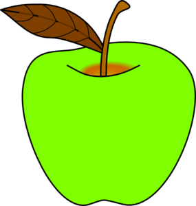 png library download Green Apple Clip Art at Clker