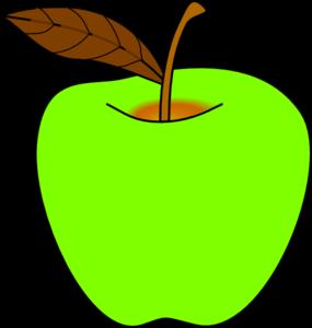 clip royalty free stock Green apple clip art. Vector apples cartoon