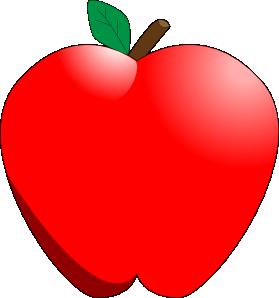 clip art free Cartoon Apple Clip Art at Clker