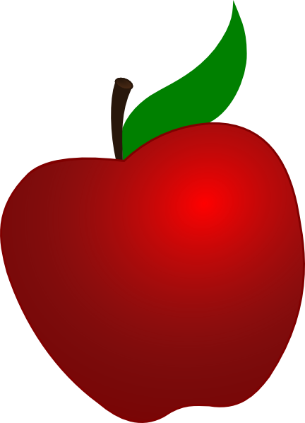 picture Apple clip art clipart. Vector apples silhouette
