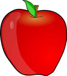 svg royalty free library Apple Clip Art at Clker