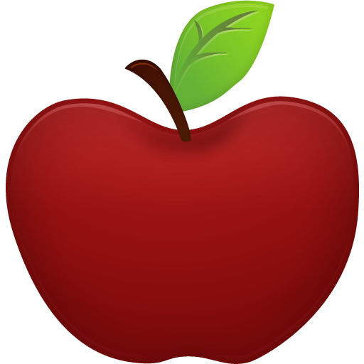 png library stock Red Apple
