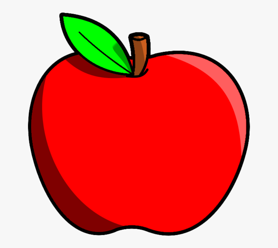 vector royalty free stock Apple clipart. Fruits fruit free cliparts