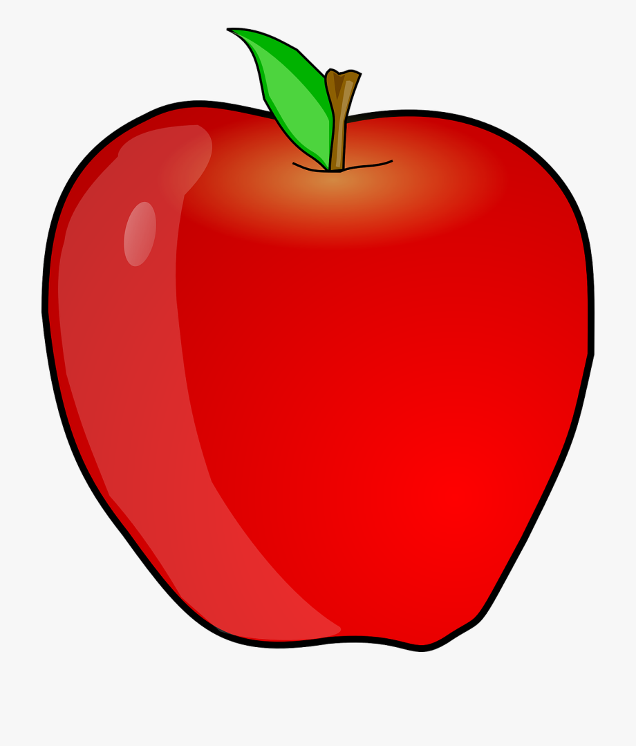 clip free Teacher apple free image. Clipart of apples