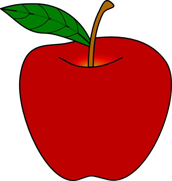 jpg free stock Apple clipart. Panda free images appleclipart