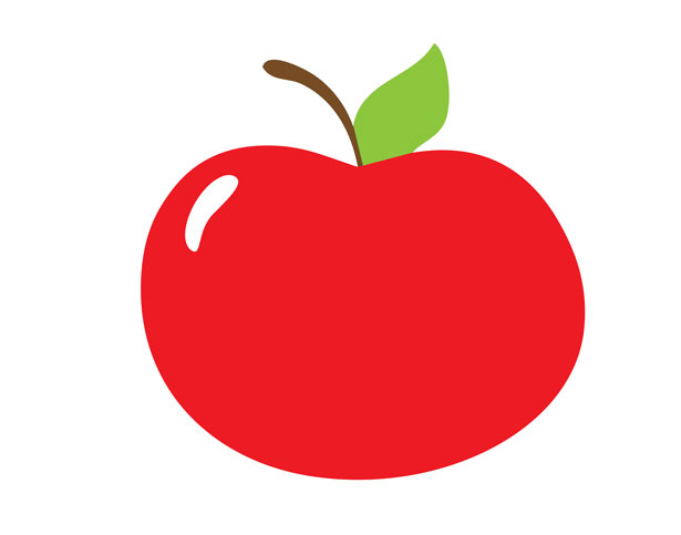 png free download Red free stock photo. Apple clipart