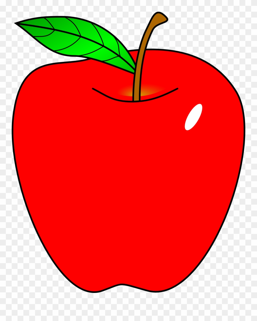 transparent Stock apple clip red. Apples clipart free