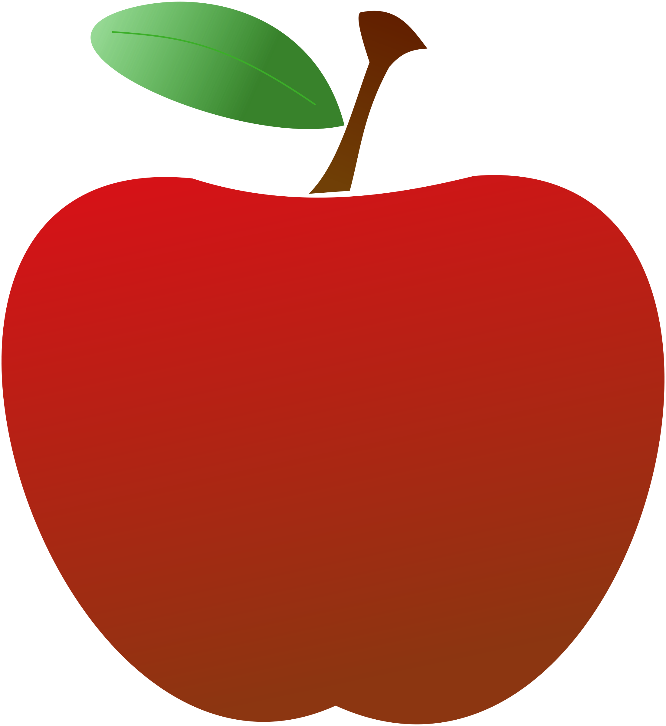 vector black and white library Vector apples cartoon.  collection of red