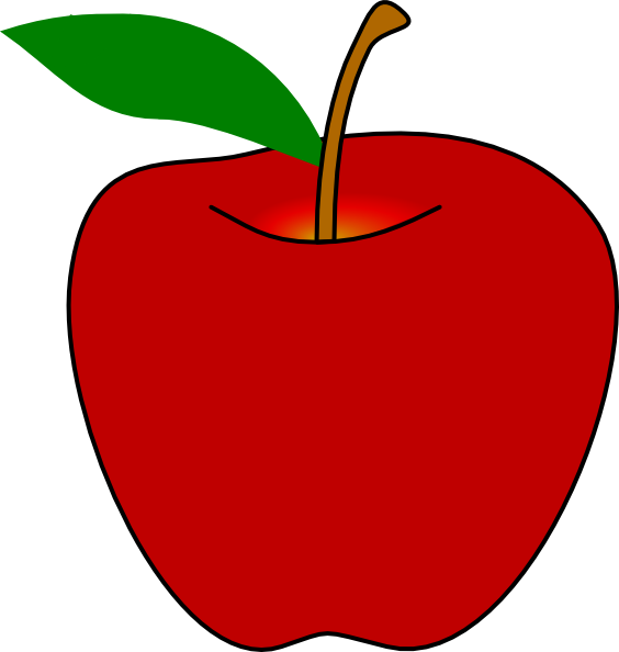 image library stock Red Apple Clip Art at Clker