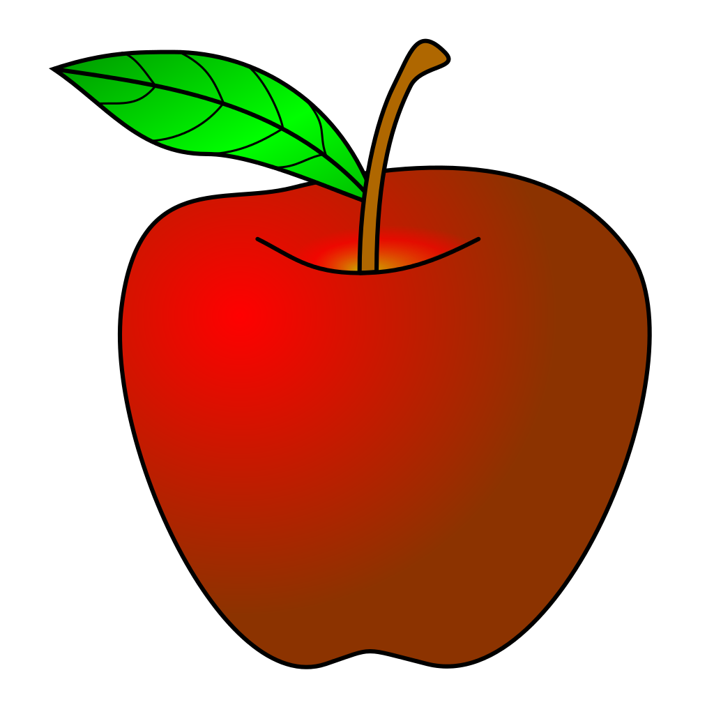 clipart library Red Apple Clipart Of A