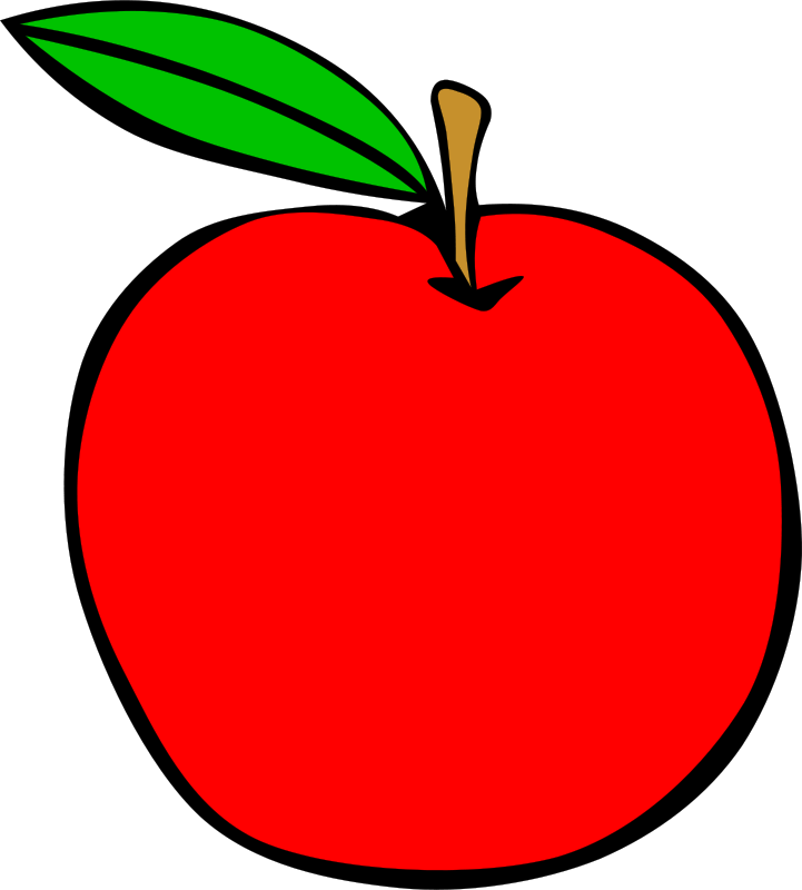 png library Simple Fruit Apple by Gerald