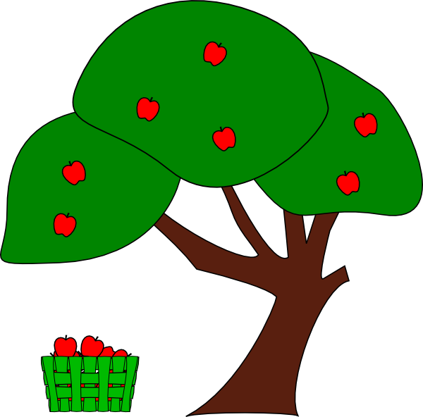 clipart library Apple Tree Clip Art at Clker