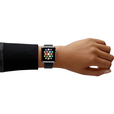 clip art royalty free library Apple Watch Hand transparent PNG