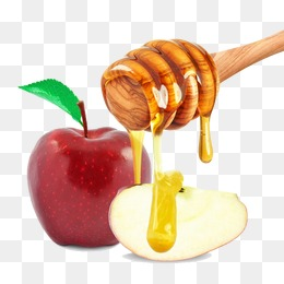 freeuse library Png transparent images . Apples and honey clipart