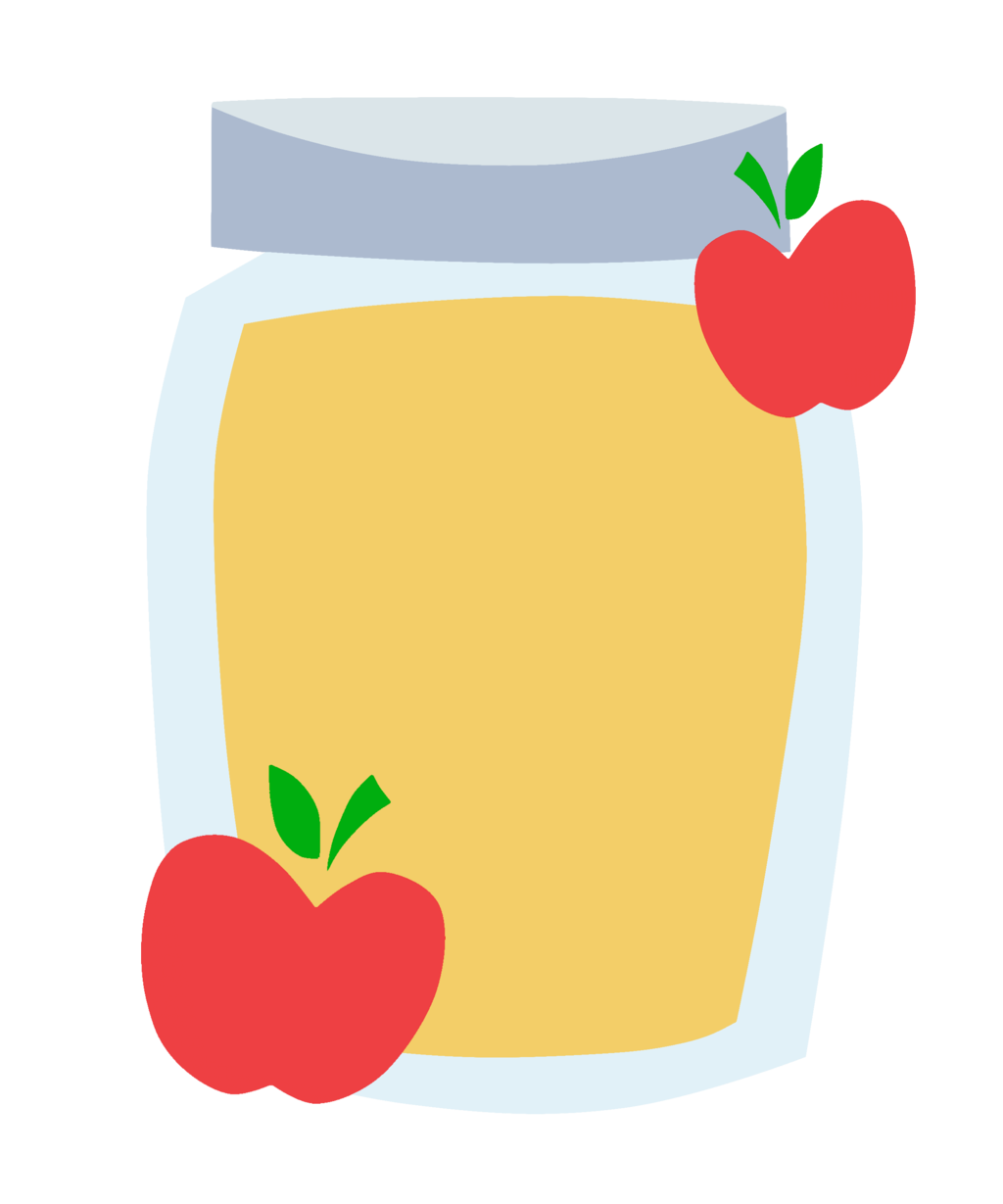 vector library stock Apple s cutie mark. Apples and honey clipart.