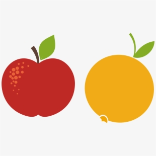 transparent stock Apple orange red png. Apples and oranges clipart