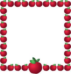 picture freeuse Apples border clipart. Free apple cliparts download