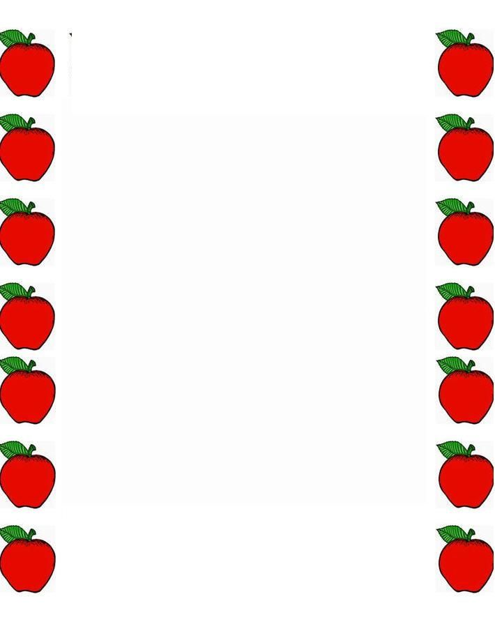 png royalty free Red apple green and. Apples border clipart