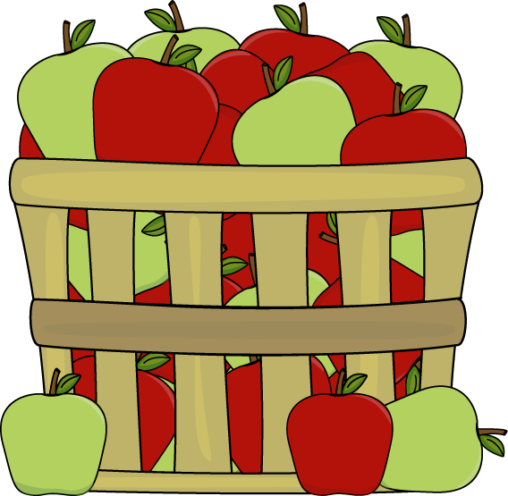 picture black and white stock Apple clip art basket. Apples clipart