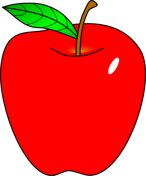 clip art Red apple clip art. Apples clipart