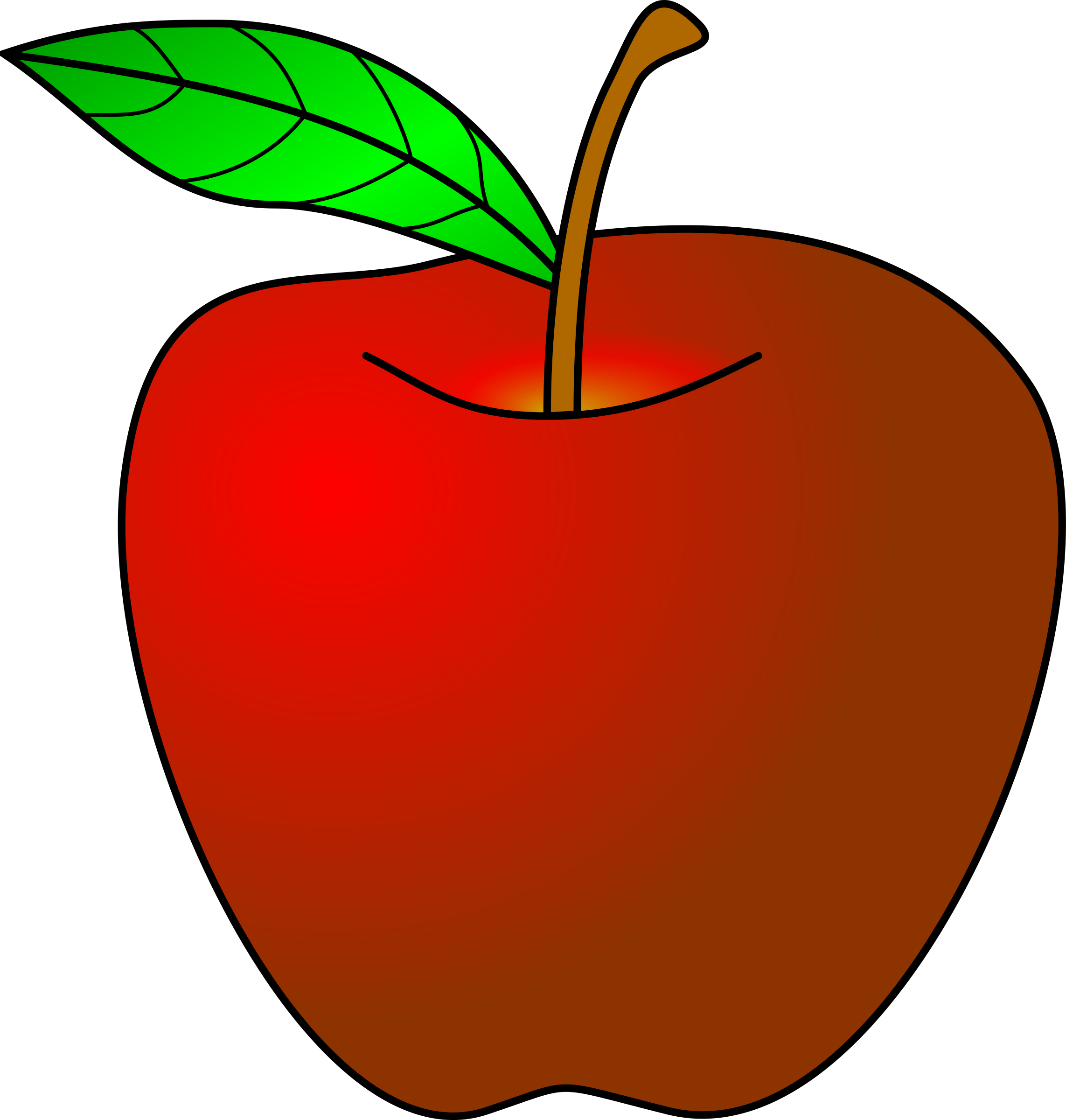 banner royalty free Teacher Apple Clipart Clipartclipart Simple Red