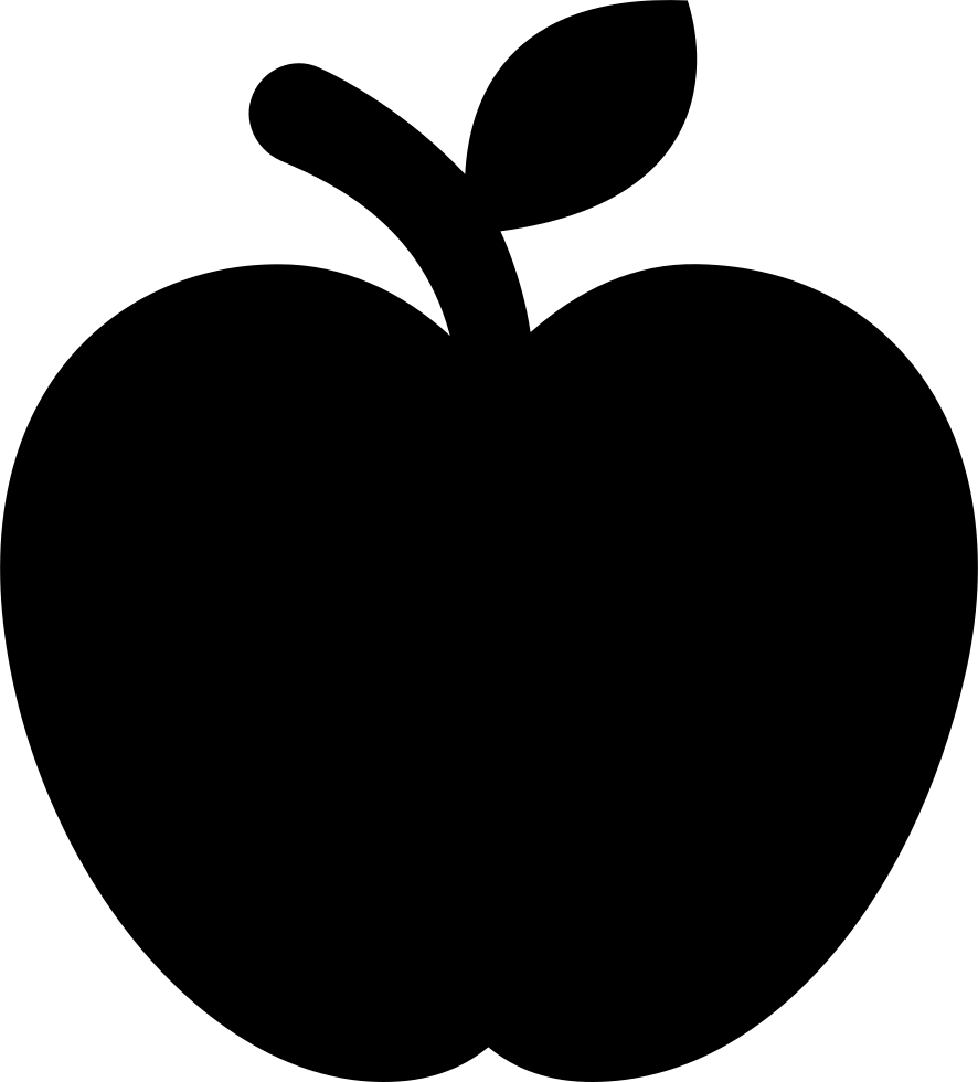 png transparent  of outline png. Vector apples pair