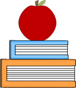 clipart freeuse library Apple And Book PNG Transparent Apple And Book