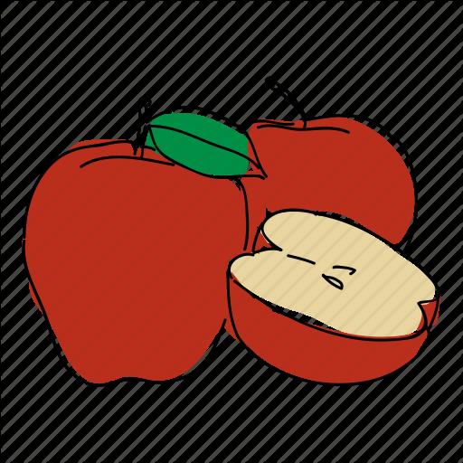 black and white download Fruit Basket Color