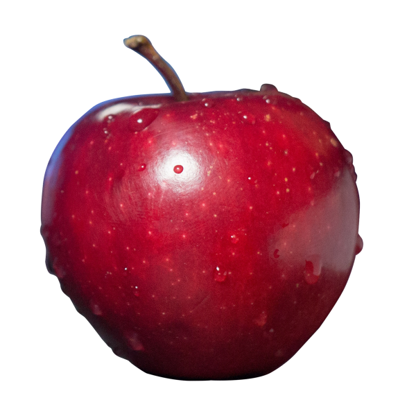 library One Apple PNG Transparent One Apple