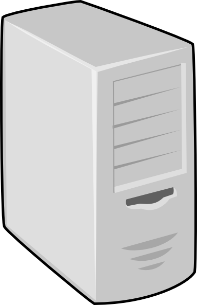 picture free library Server Clip Art at Clker