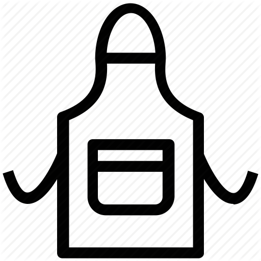 picture transparent library Half cliparts free download. Apron clipart