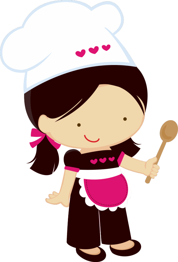 picture royalty free download chef caricatura mujer png