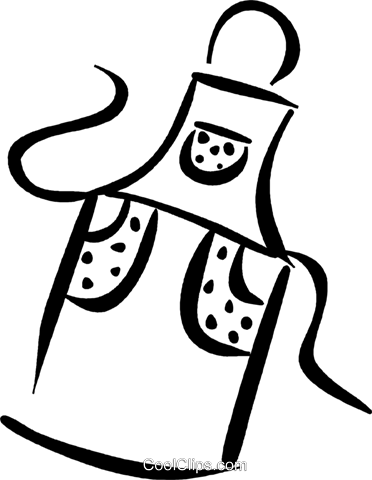 jpg royalty free stock Apron drawing.  collection of clipart