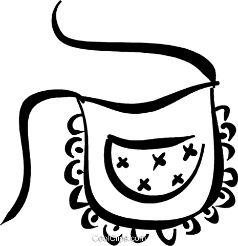 image transparent library Apron line at getdrawings. Drawing ruffles vector