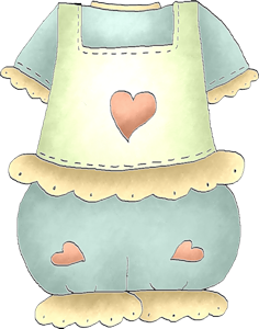 clipart library download My dear baby imprimibles. Apron clipart paper.